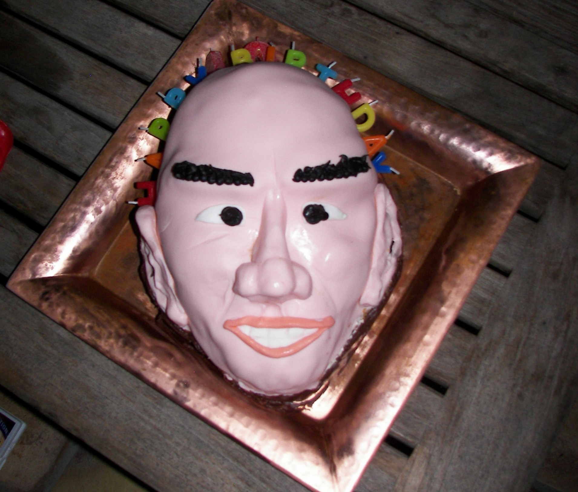 Christopher Walken Birthday Cake