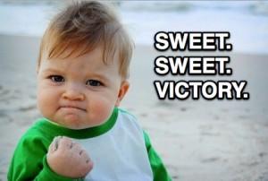 swwet sweet victory